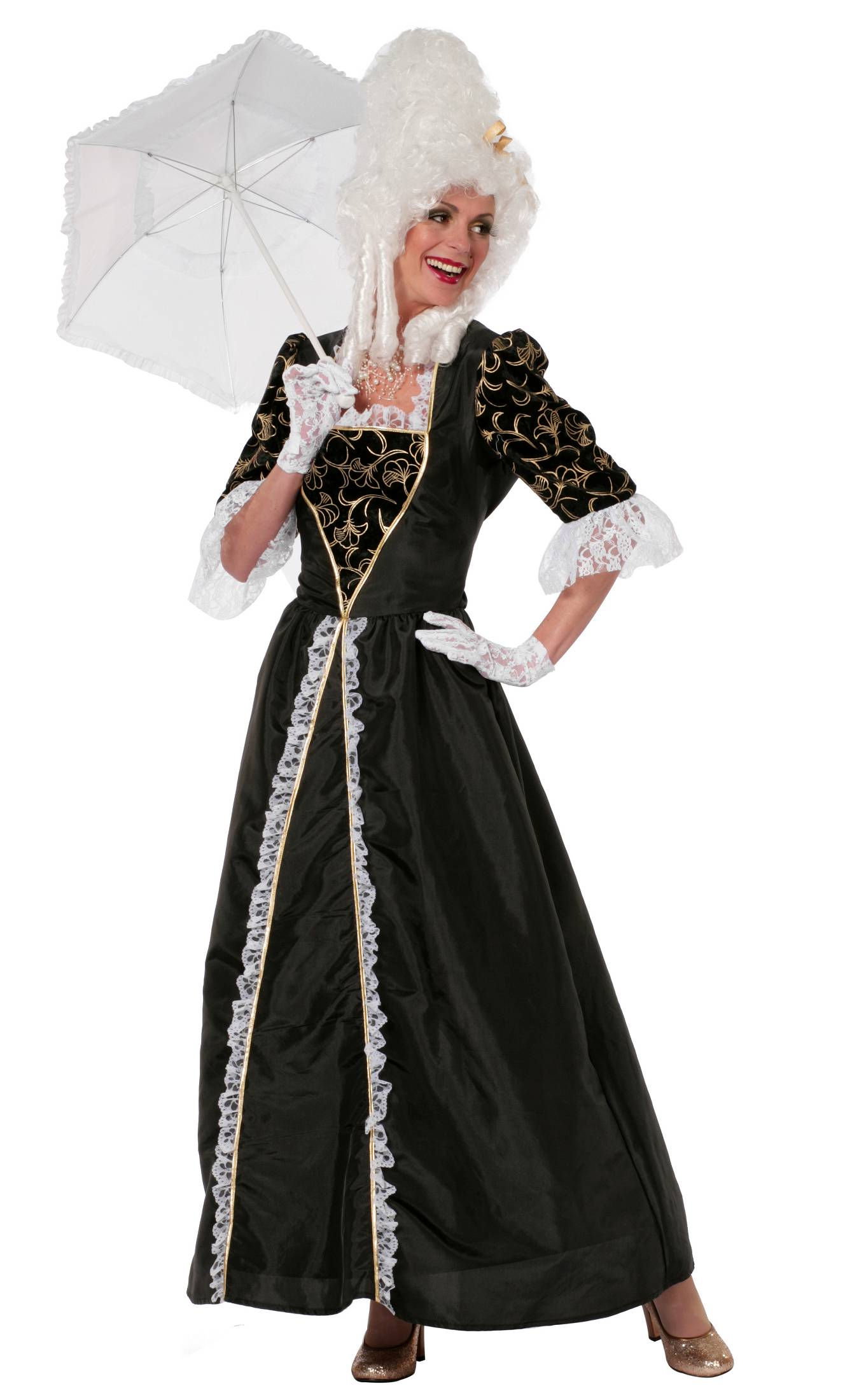 Costume-Marquise-Noire-Grande-Taille
