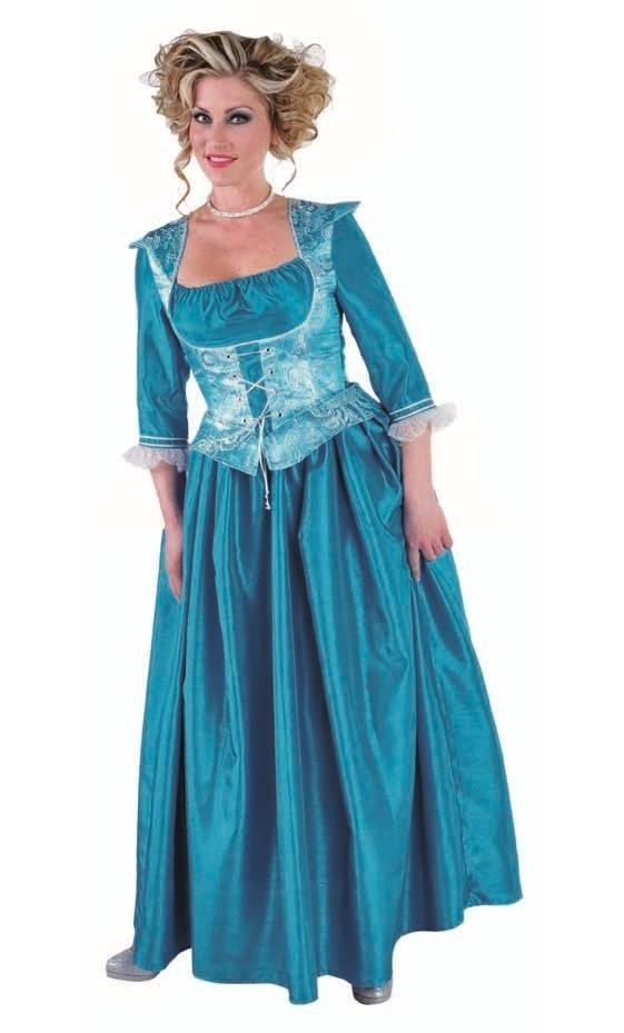 Robe-de-Marquise-bleue-Grande-Taille-4