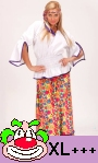 Déguisement-hippie-pour-femme-en-grande-taille-xl