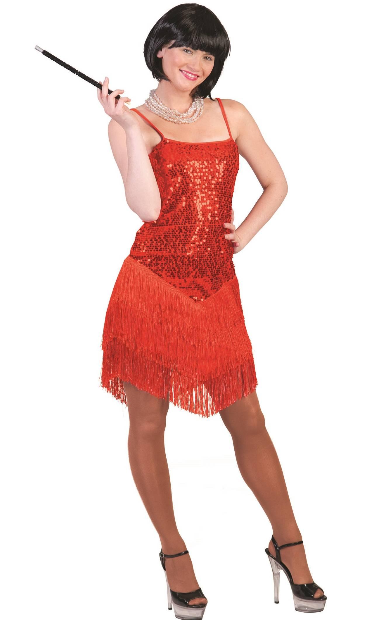 Costume-Charleston-Rouge-Femme