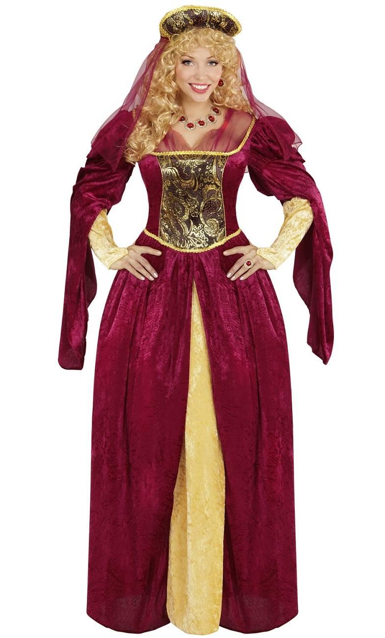 Costume médiéval femme - grande taille xl