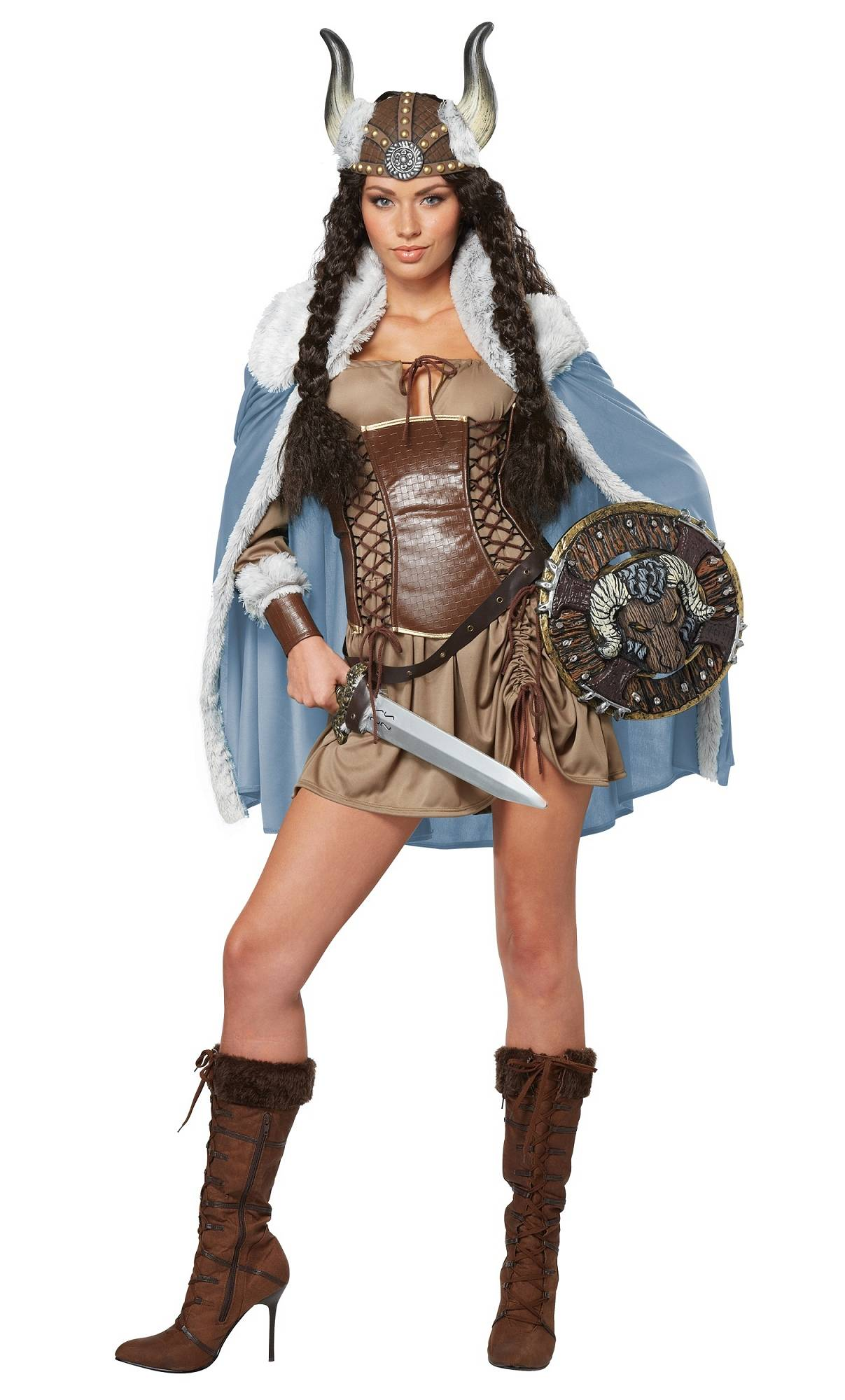 costume viking pour femme w20081. Black Bedroom Furniture Sets. Home Design Ideas