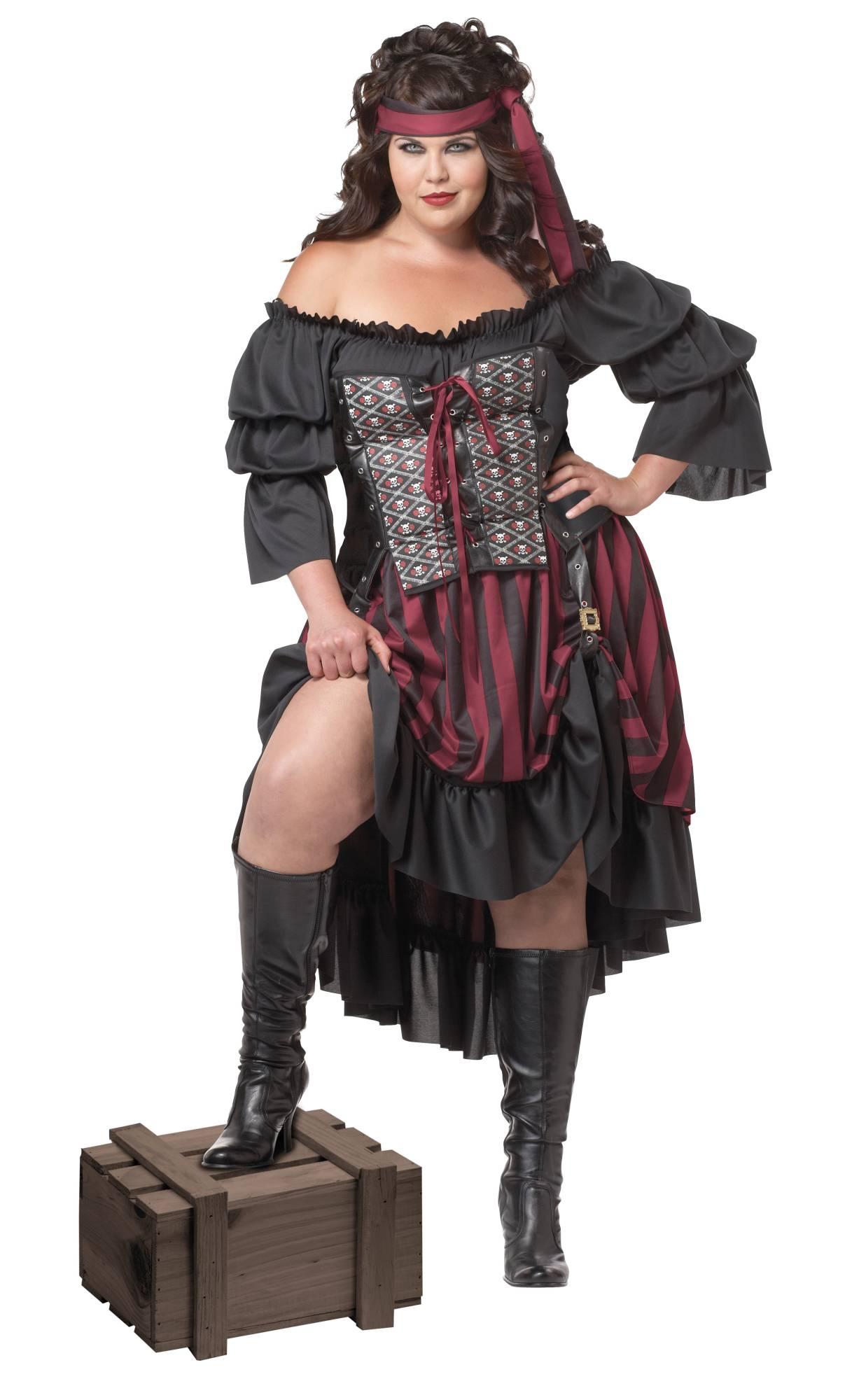 Déguisement-de-pirate-femme-en-grande-taille