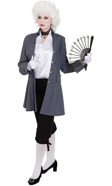 Costume-Veste-Marquise-grise-Grande-Taille