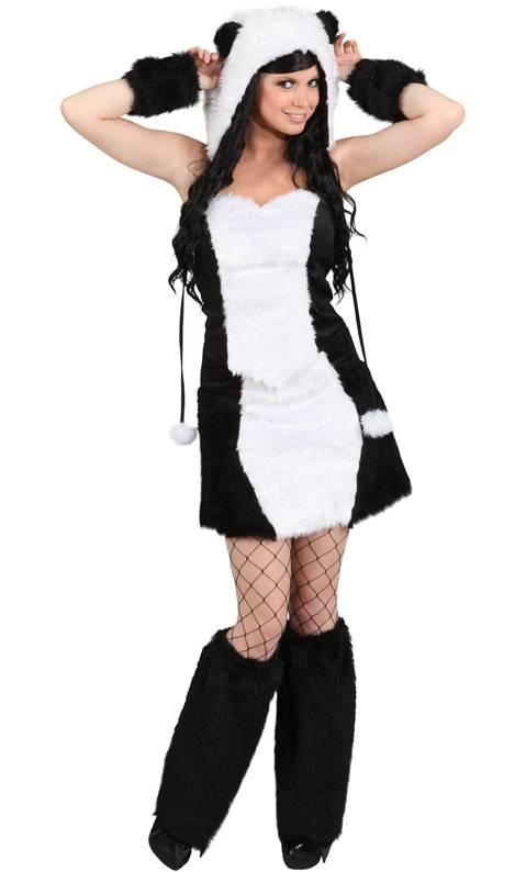 costume de panda pour femme w20105. Black Bedroom Furniture Sets. Home Design Ideas