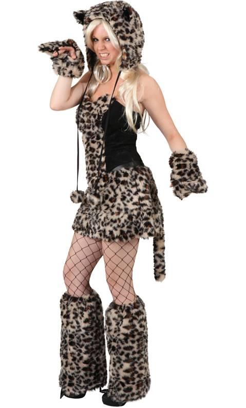 déguisement femme leopard