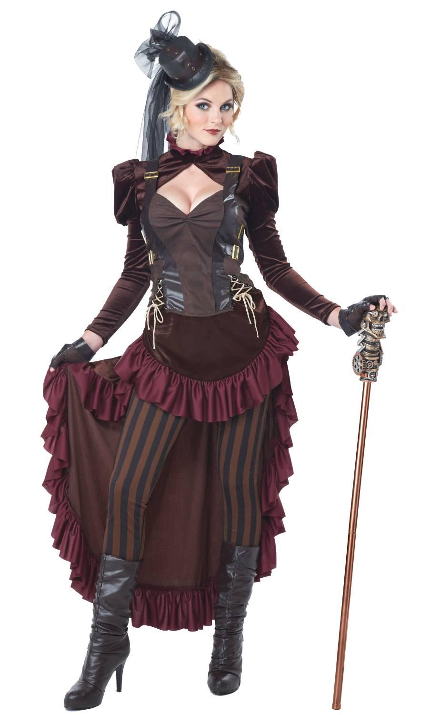 Costume steampunk pour femme
