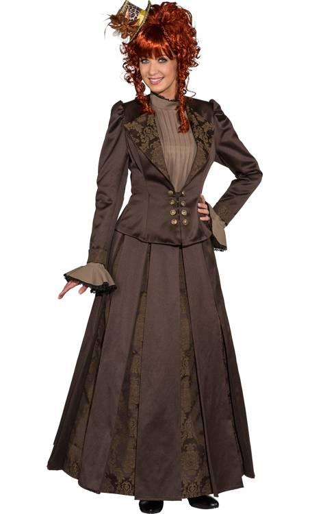 Costume-Femme-19eme-Steampunk