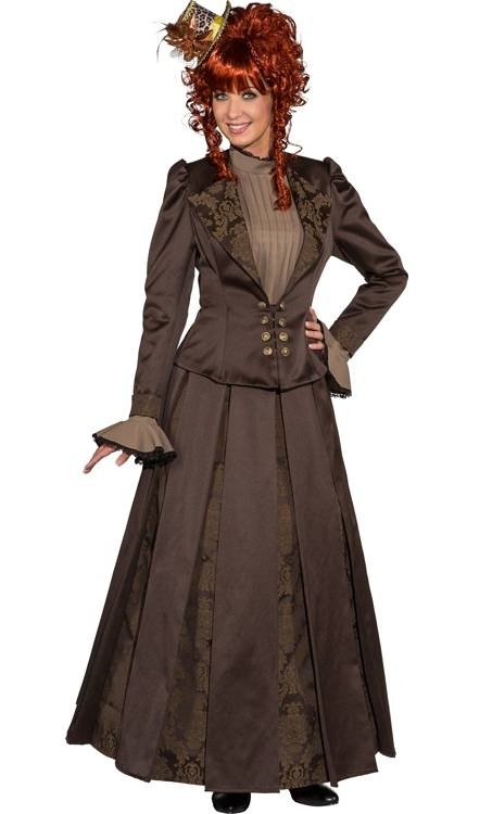 Costume-Femme-19eme-Steampunk-Grande-taille