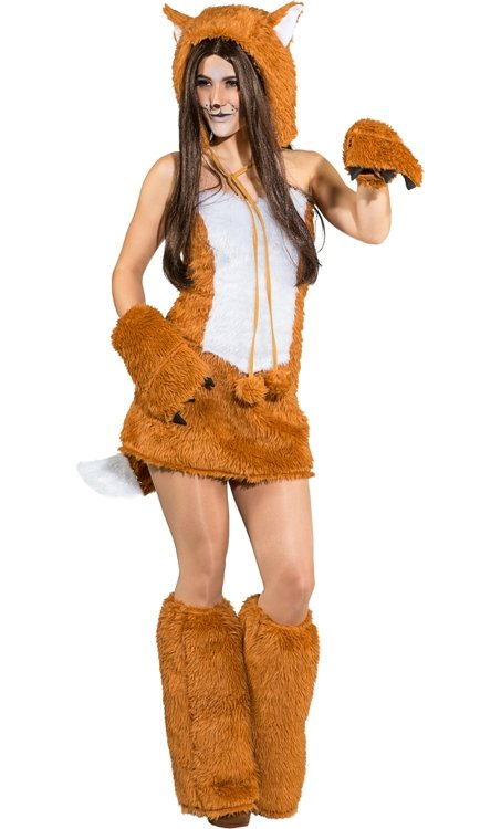 Exceptionnel Costume de renard pour femme-w20139 RQ73