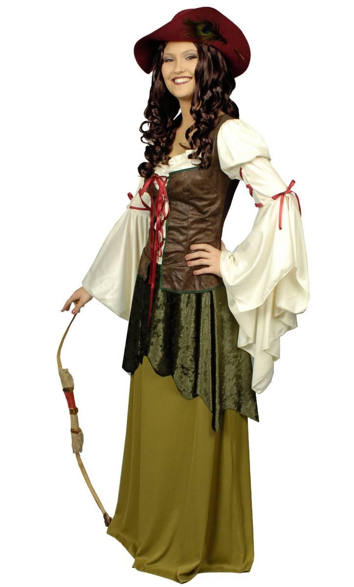 Costume-Femme-médiévale-Grande-Taille