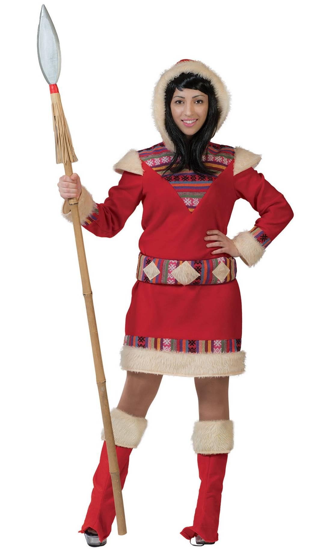Costume-Esquimau-Rouge-Femme