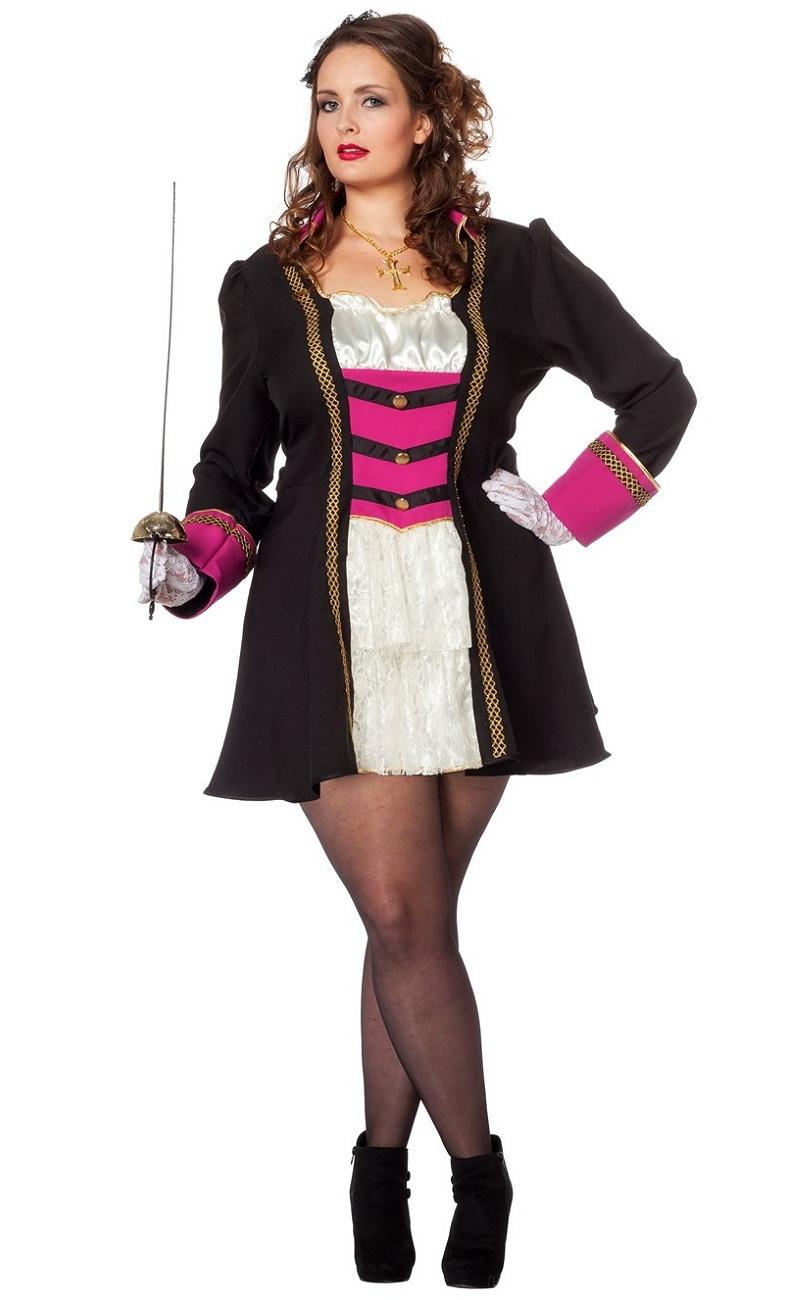 Costume-Marquise-courte-Grande-Taille