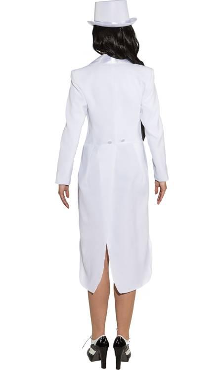 Costume-Queue-de-Pie-Blanc-Femme-Grande-Taille-2