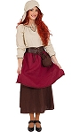 Costume-de-paysanne-médiévale