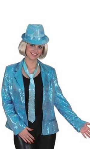 Veste-paillettes-bleue-femme