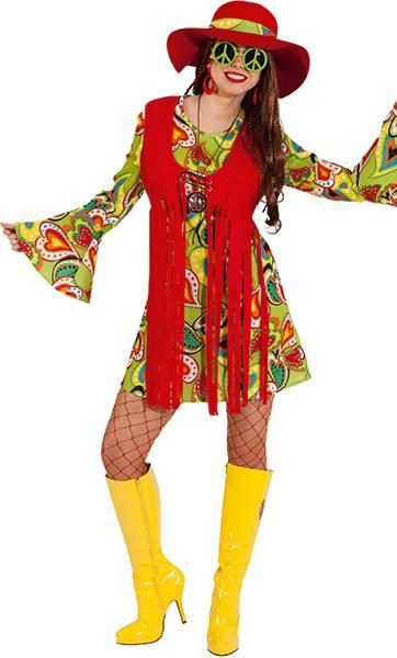 Costume-Hippie-pour-femme-en-grande-taille