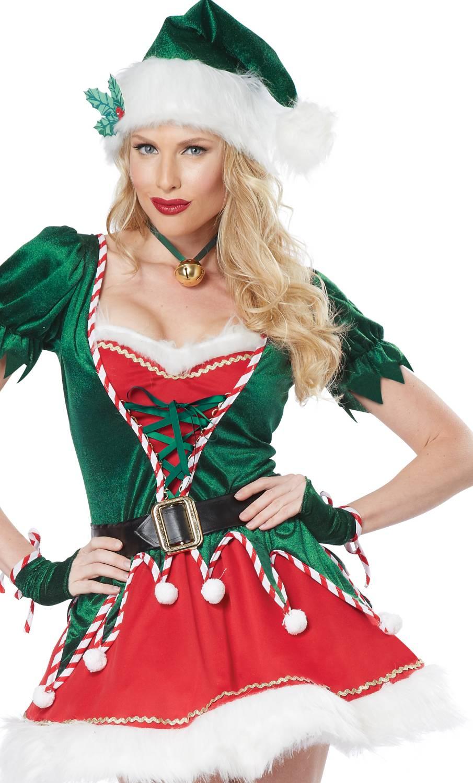 Costume-Lutin-de-Noël-pour-Femme-XL-XXL-2