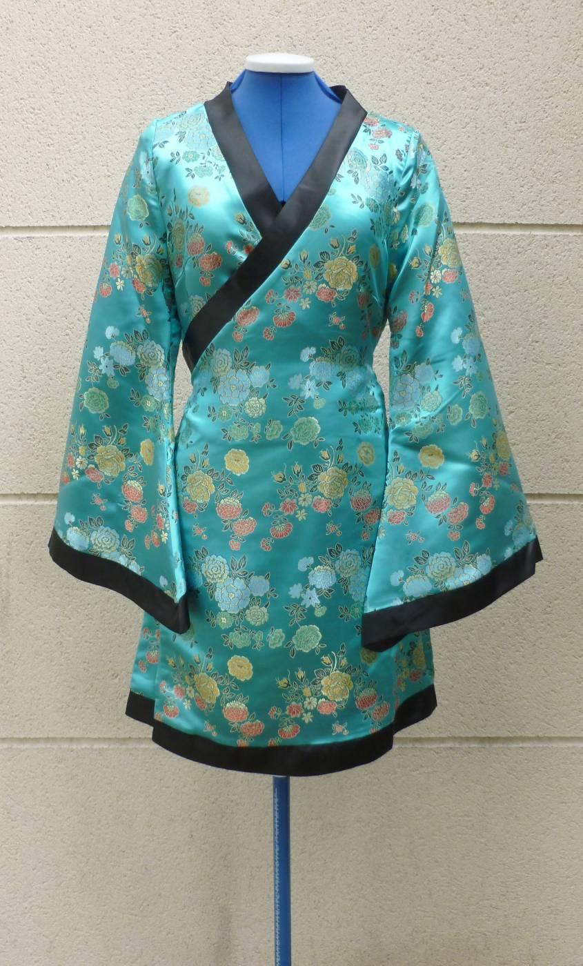kimono court pour femme w20176. Black Bedroom Furniture Sets. Home Design Ideas