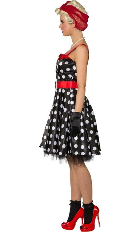 Robe-Pin-up-noir-pois-blancs-2
