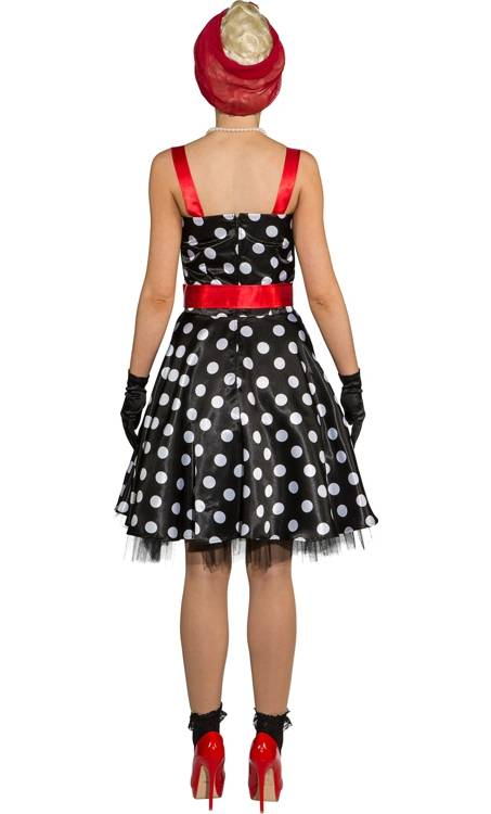 Robe-Pin-up-noir-pois-blancs-3
