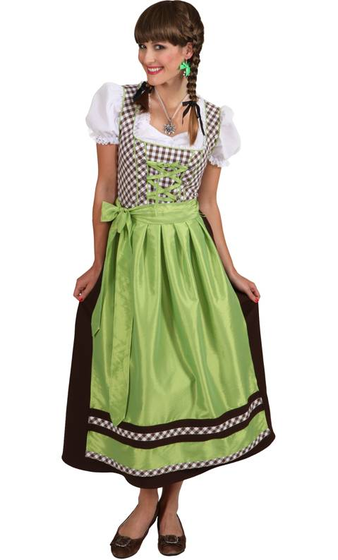 Costume-Tyrolienne-verte-grande-taille