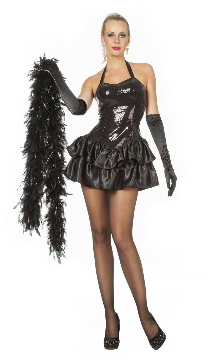 Robe-paillettes-noire