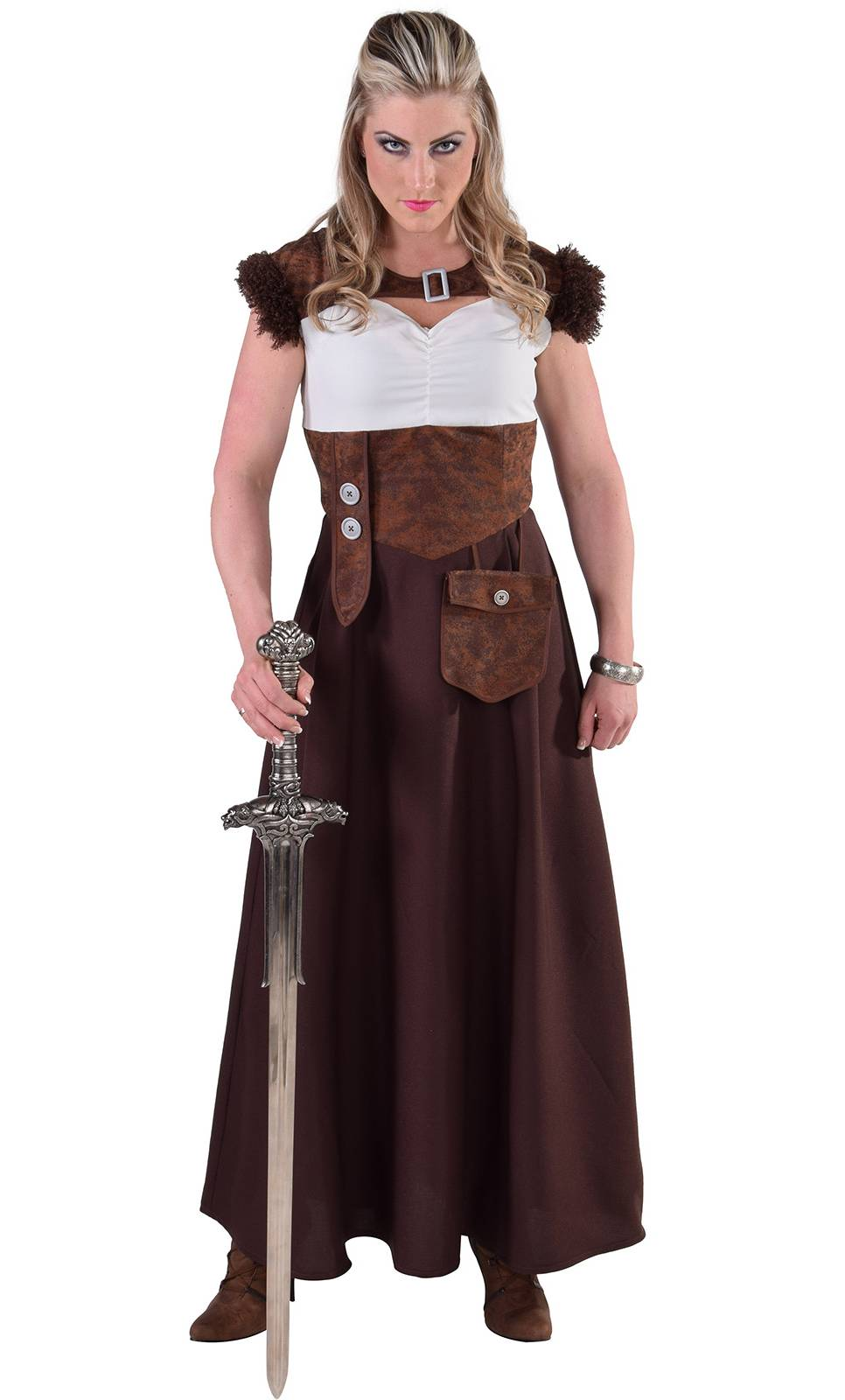 Costume-Viking-femme-Grande-Taille-XL-XXL