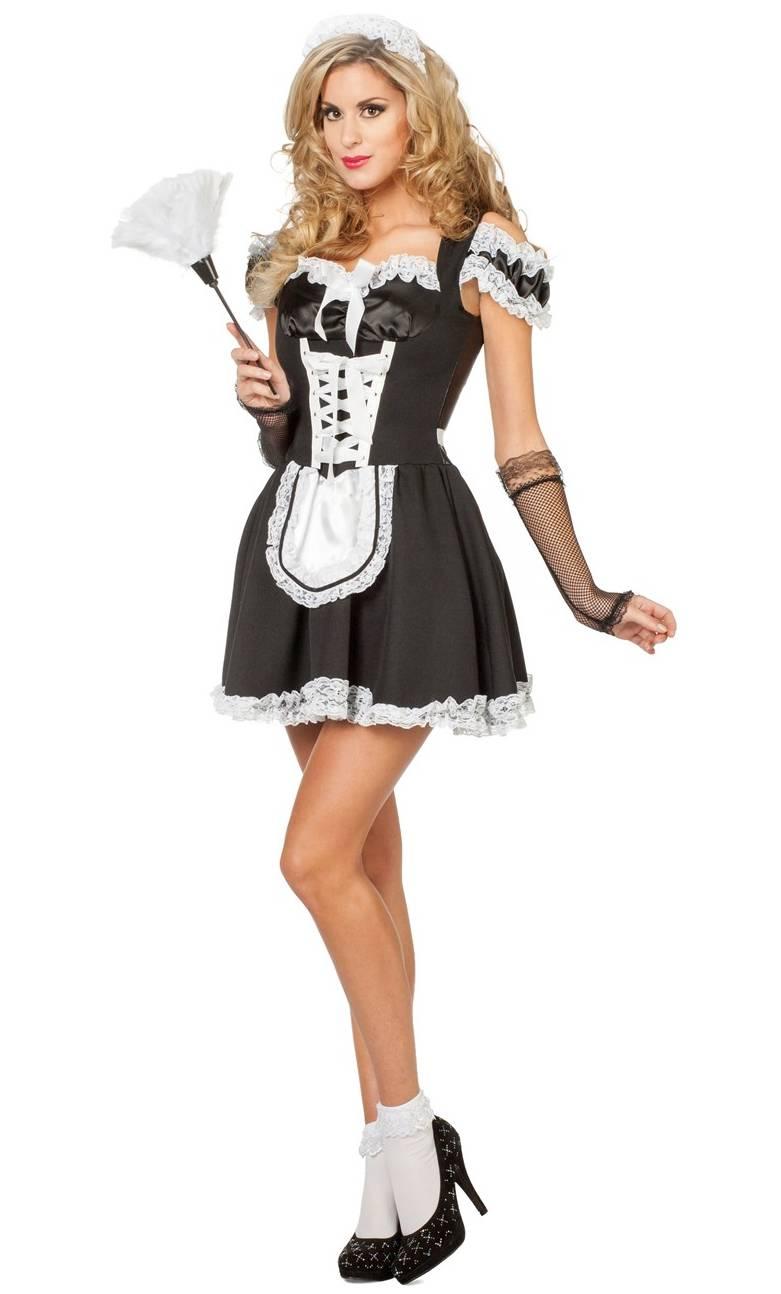 Costume-Soubrette-Femme