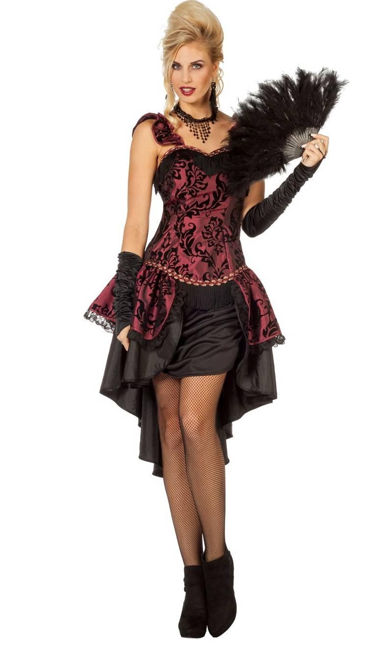 costume de saloon pour femme w20203. Black Bedroom Furniture Sets. Home Design Ideas