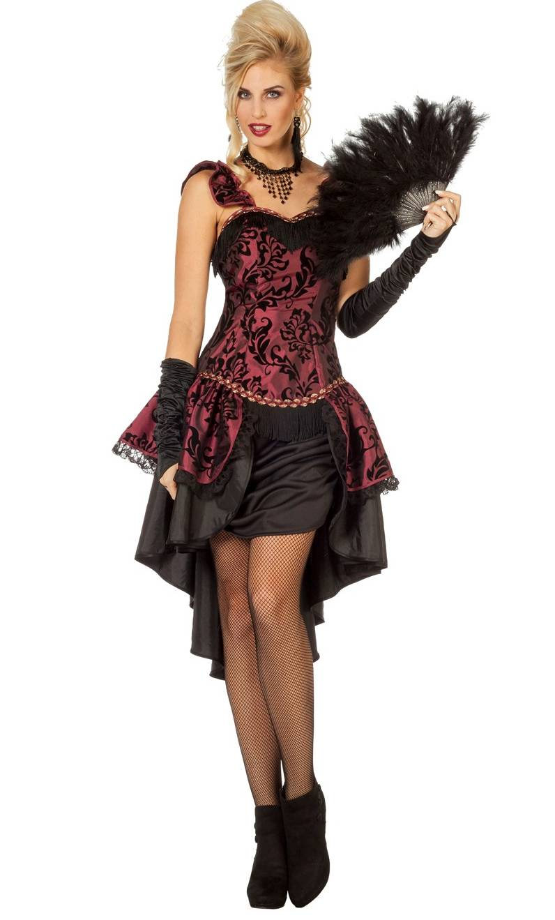 Costume saloon femme grande taille