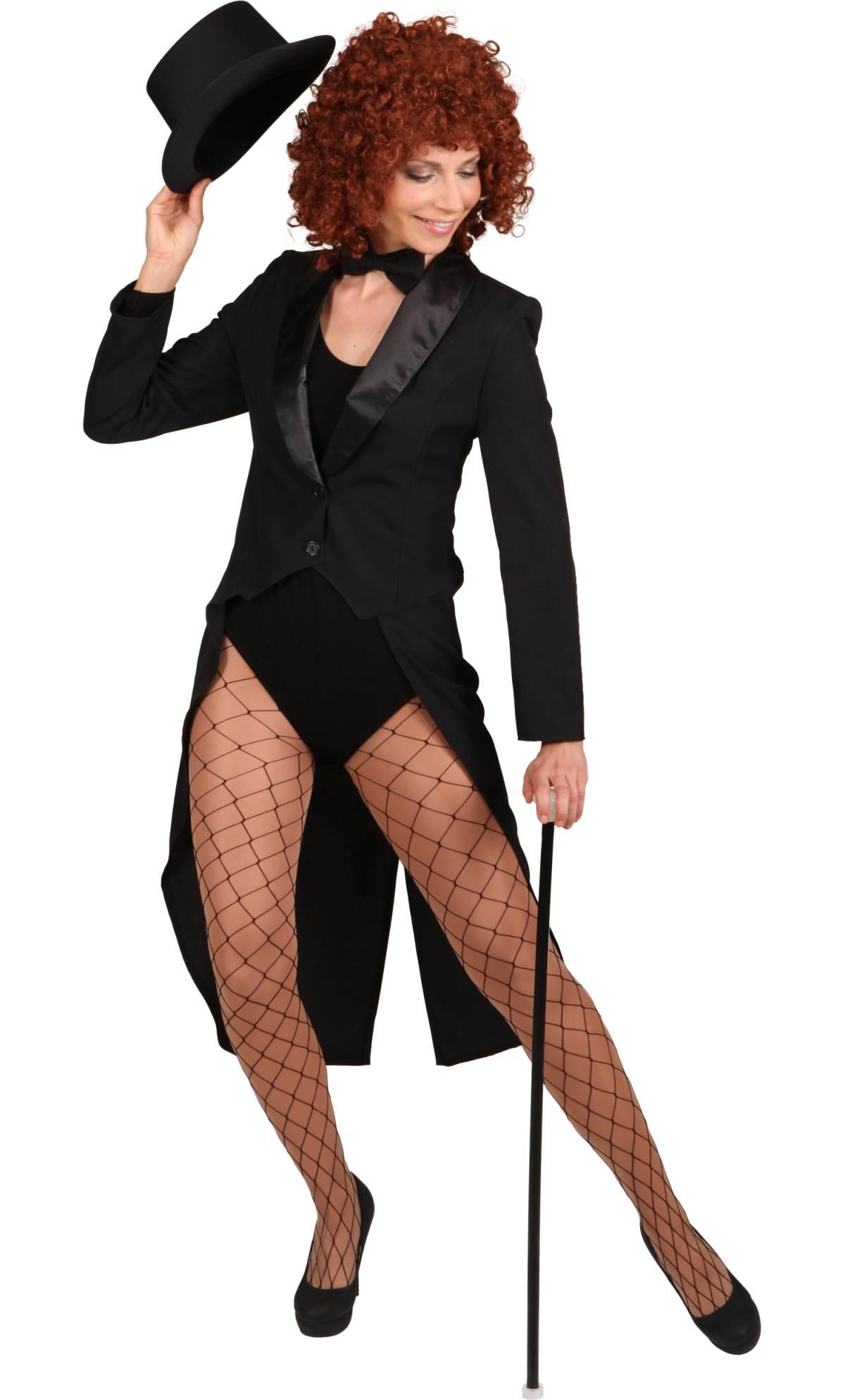 Costume-Queue-de-Pie-Noire-Femme
