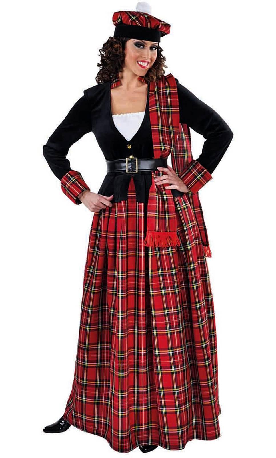 Costume ecossaise femme w20209 for Pourquoi ecossais portent kilt