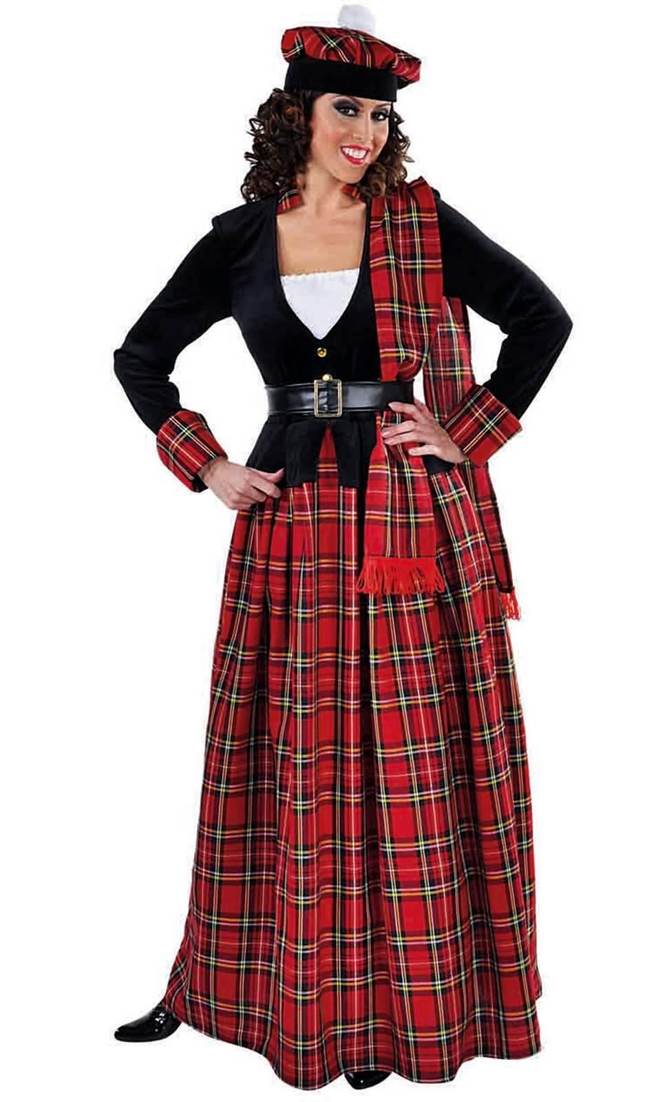 Costume ecossaise femme grande taille
