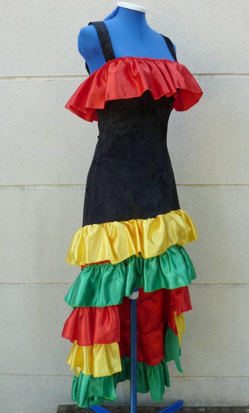 Costume brésilienne femme grande taille