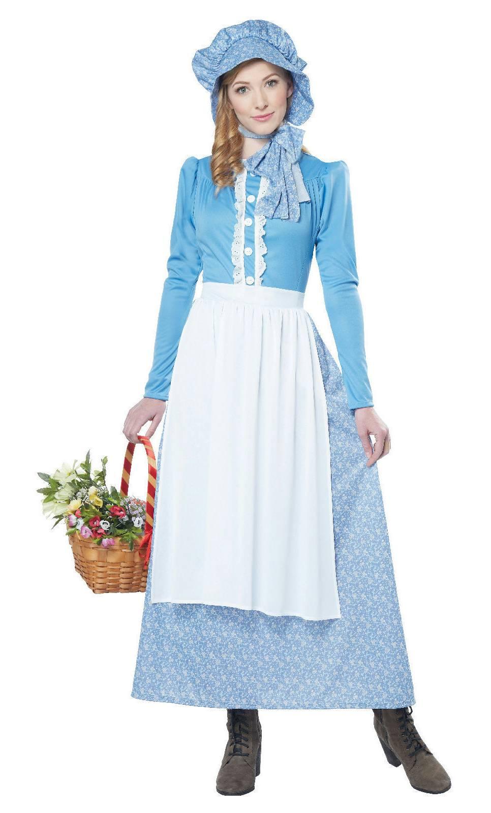 costume femme prairie w20225