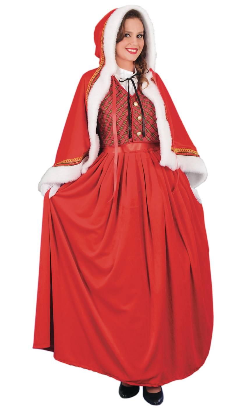 Costume-de-Mère-Noël-luxe