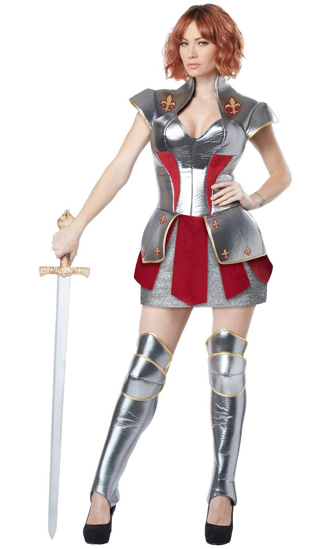 Costume-Chevalière-Femme