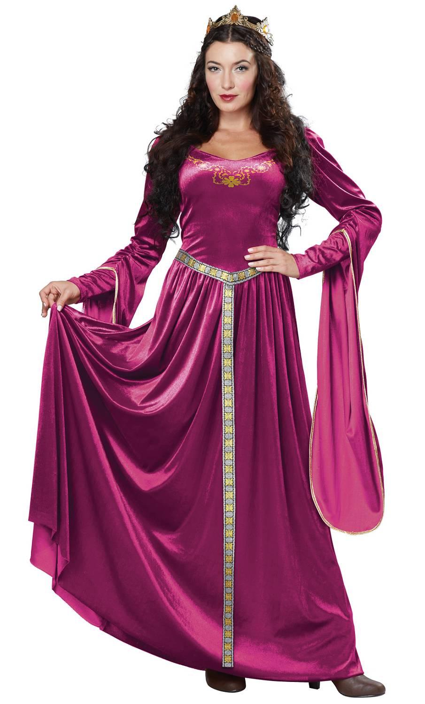 Costume-de-femme-médiévale