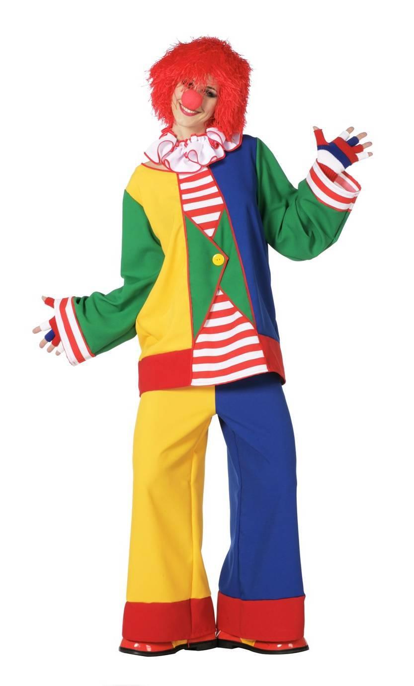 Costume-Clown-femme-Grande-Taille