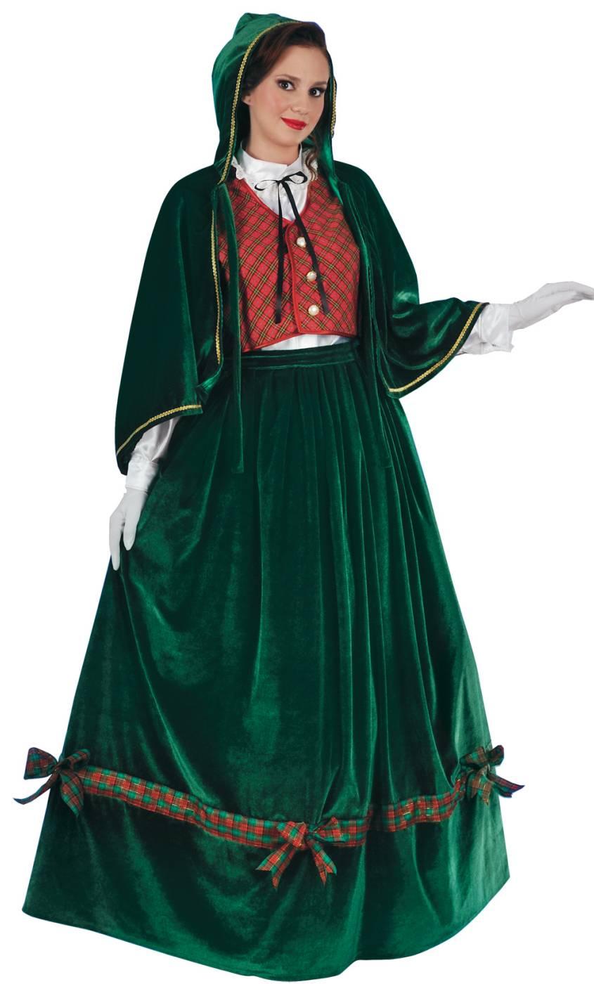 Costume-de-Mère-Noël-tradition
