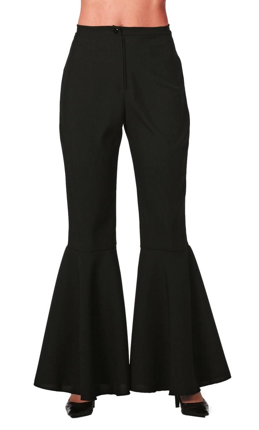 pantalon patte d 39 lphant femme w20303. Black Bedroom Furniture Sets. Home Design Ideas