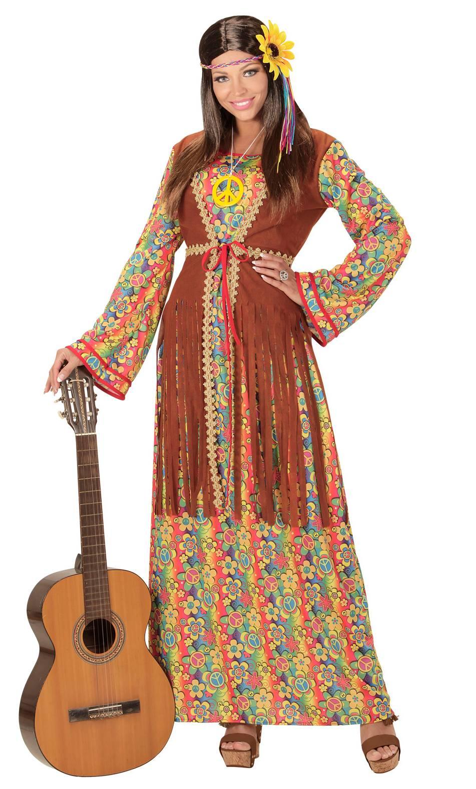 Costume-femme-hippie-grande-taille-XL-XXL