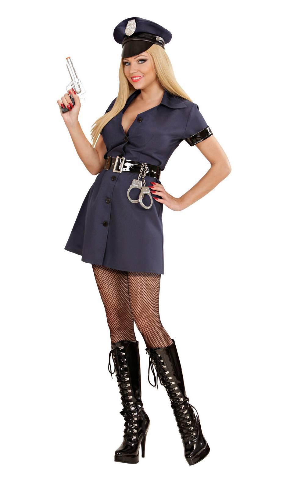 Costume-de-policière-en-grande-taille