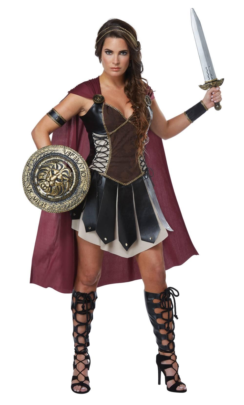 Déguisement-de-gladiatrice
