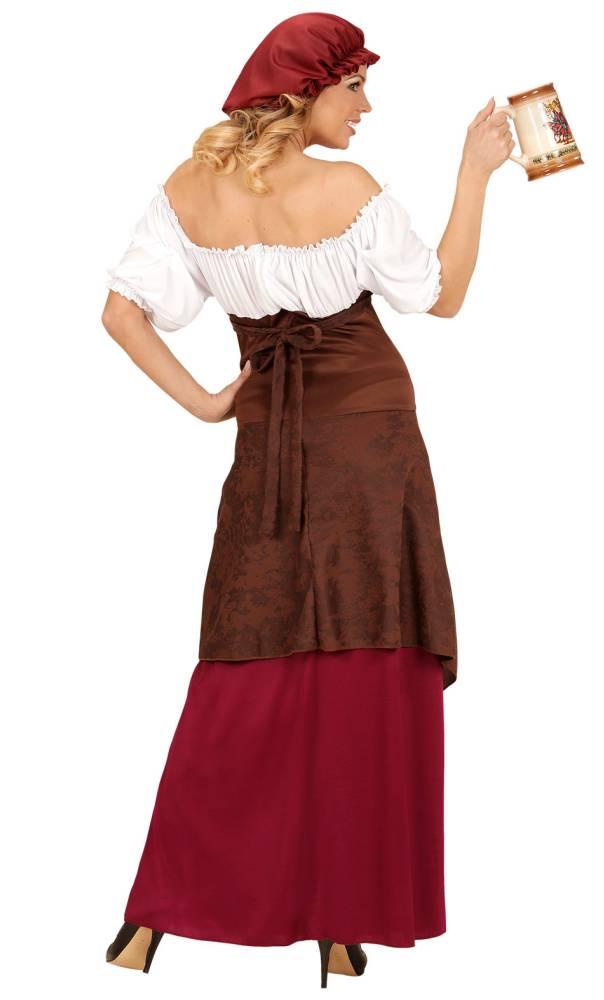 Costume-de-paysanne-du-Moyen-Âge-2