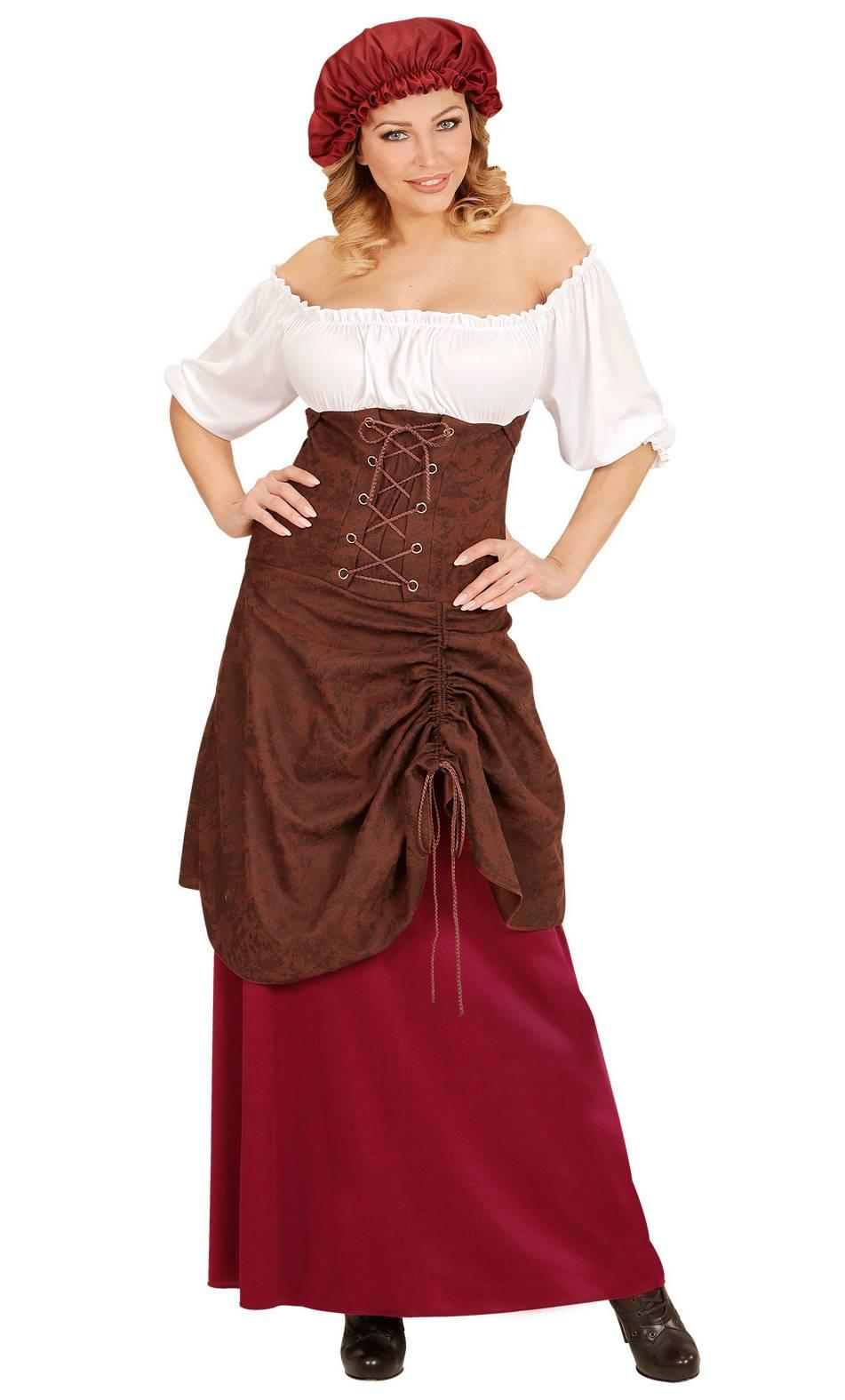 Costume-de-femme-médiévale-XL