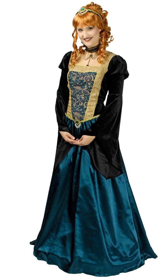 Robe-médiévale-Grande-Taille