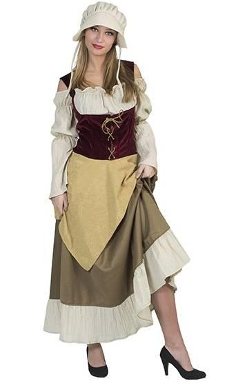 Costume-de-paysanne-médiévale-grande-taille-2