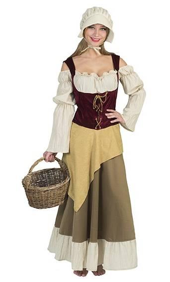 Costume-de-paysanne-médiévale-grande-taille-3